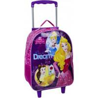 Mochila De Rodinha Disney Princesa Dare To Dream