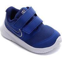 Tênis Nike Infantil Star Runner 2 - Masculino-Azul Royal+Prata