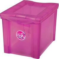 Caixa Organizadora Radical- Pink- 30,7X30,5X42,5Cm