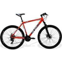 Bicicleta Gts M1 Aro 29 Freio A Disco Câmbios 24 Marchas C/ Câmara De Ar Anti Furo Ride Xt - Unissex