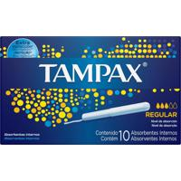 Absorvente Interno Tampax Médio - 10 Unidades - Tricae