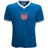 Camisa Liga Retrô Estados Unidos 1934 - Masculino