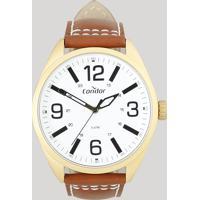 Relógio Analógico Condor Masculino - Co2035Mpf2B Dourado - Único