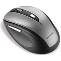 Mouse Multilaser, Comfort Sem Fio Usb, Cinza E Preto Mo238