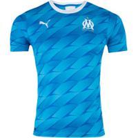Camisa Olympique De Marseille Ii 19/20 Puma - Masculina - Azul