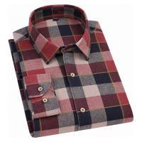 Camisa Xadrez Gardner Flanelada Masculina - Vermelha