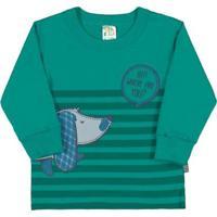 Blusa Bebê Menino - Masculino-Verde
