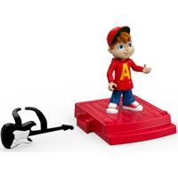 Figura Com Cenário - Alvinnn!!! E Os Esquilos - Alvin - Mattel - Masculino-Incolor