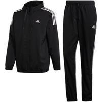 Agasalho Adidas - Masculino-Preto