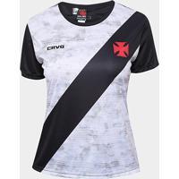 Camiseta Vasco Braziline Proud Feminina - Feminino