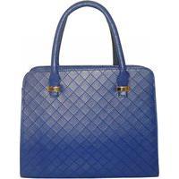 Bolsa Real Arte Maleta Azul