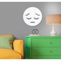 Espelho Decorativo Emoji Triste