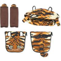 Dolce & Gabbana Kids Bolsa Maternidade Animal Print - Amarelo