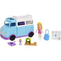 Polly Pocket Glamorosa Van De Campismo - Mattel - Kanui