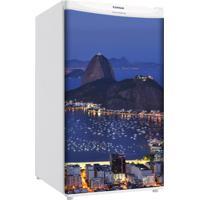 Adesivo Sunset Adesivos Frigobar Decorativo Porta Baia De Guanabara Noite