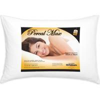 Travesseiro Percal 180 Fios Max Cor Branco - 43595 Sun House