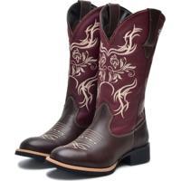 Bota Texana Ec Shoes Café