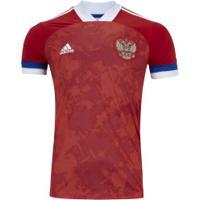 Camisa Rússia I 2019 Adidas - Masculina - Vermelho