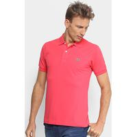 b1d86148f0850 Netshoes  Camisa Polo Lacoste Piquet Original Masculina - Masculino