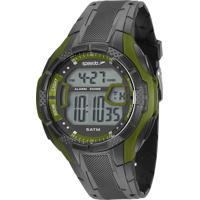 Kit De Relógio Digital Speedo Masculino + Carregador Portátil - 81141G0Evnp6K Preto
