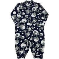 Macacão Ano Zero Pijama Infantil Estampado Bichos - Unissex-Marinho