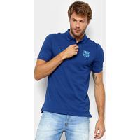 Camisa Polo Barcelona Nike Masculina - Masculino