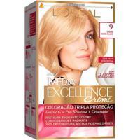 Coloração Imédia Excellence L'Oréal Paris 9 Louro Muito Claro - Unissex-Incolor