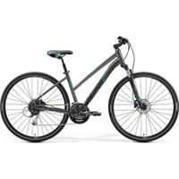 Bicicleta Merida Crossway 100 Lady, Aro 700, Quadro Alumínio, Shimano Altus, 27 Velocidades - Unissex