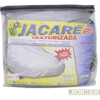 Capa De Carro - Bezi - S4-Dobló/Tr4/Troller/Kangoo/ Fiorino/Tucson/Sportage - Jacaré - Impermeável - 100% Forrada - Cinza - Cada (Unidade) - Van_I