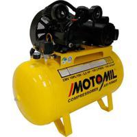 Compressor De Ar 2Hp Trifásico 220/380V Cmv-10Pl/100 Motomil