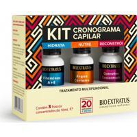 Kit Cronograma Capilar Bio Extratus Tratamento Multifuncional