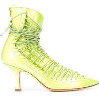 Y/Project Sapato Com Cadarço - Verde