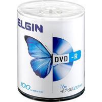 Dvd-R Bulk 4.7Gb 8X Gravável Elgin