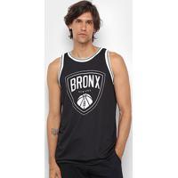 Regata Gonew Bronx Masculina - Masculino-Preto