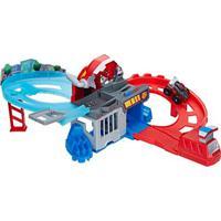 Pista De Corrida Playskool Transformers - Rescue Bots Flip Racers - Perseguição E Captura - Hasbro