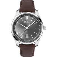 Relógio Hugo Boss Masculino Couro Marrom - 1513726