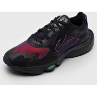 Tênis Nike Sportswear Air Zoom Division Preto/Vinho