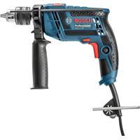 Furadeira De Impacto 1/2 Re Vvr Azul 650W Bosch 110V Gsb13