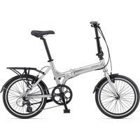 Bicicleta Express Way1 Cinza Prata/Vermelha - Giant