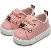 Tênis Pimpolho Infantil Coração Rosa