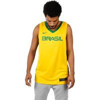 Camisa Nike Seleção Brasileira De Basquete I Masculina