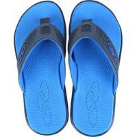 Chinelo Olympikus Ibiza Masculino - Masculino-Preto+Azul