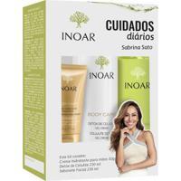 Kit Inoar Body Care Cuidado Diário 1 Creme 50G + 1 Sabonete 230Ml + 1 Gel Creme 230Ml - Unissex-Incolor