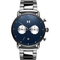 Relógio Mvmt Masculino Aço - D-Bt01-Blus