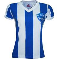 Camiseta Liga Retrô Paysandu 1987 Feminino - Feminino