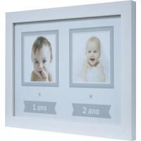 Quadro Para Fotos Baby Decor Branco 20X30Cm