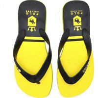Chinelo Polo Culture Masculino - Masculino-Amarelo