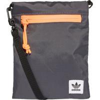 Bolsa Adidas Simple Pouch Originals Cinza - Kanui