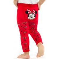 Meia-Calça Legging Disney Minnie Mouse Lupo (13520-02) Algodão