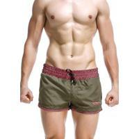 Shorts Seobean Anglet - Verde Militar